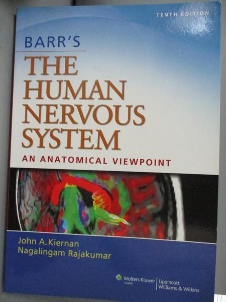 【書寶二手書T6/大學理工醫_QER】Barr s The Human Nervous System