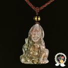 濟公(印度瑪瑙)中國結項鍊A【十方佛教文物】