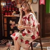 新款睡衣女夏季薄款純棉短袖短褲夏天日系春秋家居服兩件套裝 【快速出貨】