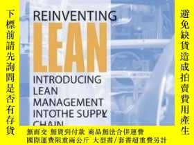 二手書博民逛書店Reinventing罕見Lean: Introducing Lean Management Into The S