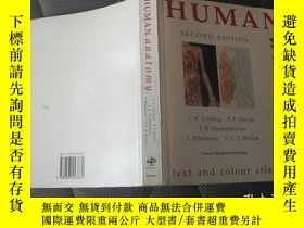 二手書博民逛書店HUMAN罕見ANATOMY SECOND EDITION【24