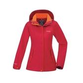 【買就送!2用後背包】[ATUNAS] 歐都納 (女) 樂遊休閒2L GTX+羽絨二件式外套 紅 (A-G1812W-B)