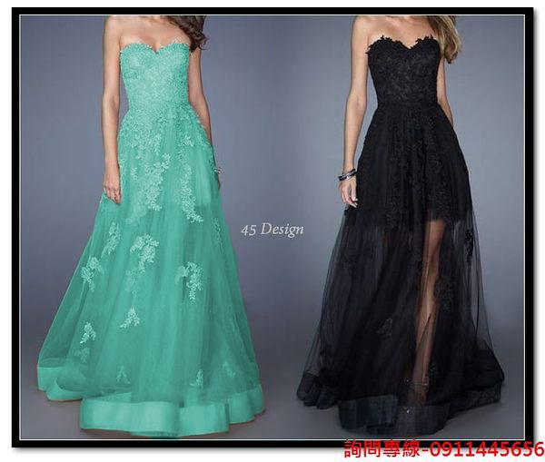 (45 Design)訂做款式7天到貨  專業訂製 中大尺碼高檔定制 訂製手工婚紗禮服 主持表演走 綁帶款