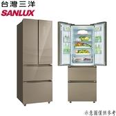 【SANLUX台灣三洋】312公升 四門下冷凍雙抽屜變頻電冰箱 SR-C312DVGF