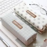 創意簡約筆袋韓國小清新學生文具袋女大容量鉛筆袋