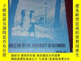 二手書博民逛書店bulletin罕見of the university of d