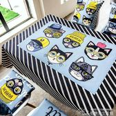 LIKE HOUSE北歐貓狗棉麻餐桌臺布圓桌桌布長方形茶幾布多用蓋巾布 居樂坊生活館