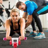 健腹輪女家用馬甲線初學者運動健身器材收腹滾輪滑 樂活生活館