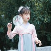 兒童髮飾漢服頭飾兒童中國風森系超仙美羽毛髮夾古風髮飾女童古裝配飾流蘇 至簡元素