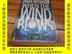 二手書博民逛書店WHEN罕見THE WIND BLOWSY20470 JAMES