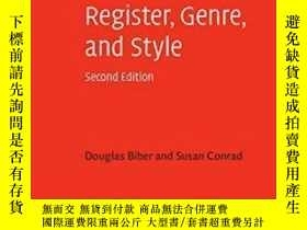 二手書博民逛書店Register,罕見Genre, And Style (cambridge Textbooks In Lingu