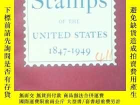 二手書博民逛書店postage罕見stamps of the united st