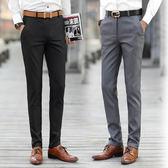 西裝褲    休閒長褲子韓版修身薄款灰色西裝褲夏季男士青年西褲   ciyo黛雅