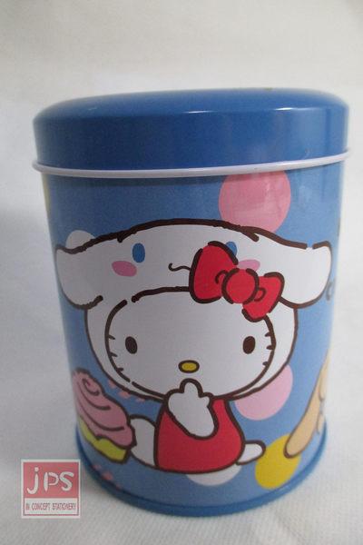 Hello Kitty 凱蒂貓 大耳狗 小圓罐存錢筒 存錢筒 260814
