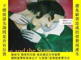 二手書博民逛書店2手英文罕見Chagall: Love and the Stag