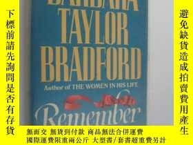 二手書博民逛書店英文原版罕見Remember by Barbara Taylor