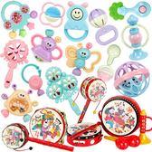 嬰兒玩具0-1歲幼兒牙膠搖鈴 全館免運