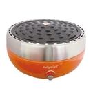 派樂 Airlightgrill風扇送風式 旋風 烤肉爐 1組-裝電池自動吹風點燃碳火 烤肉架 排油低脂少油煙烤爐