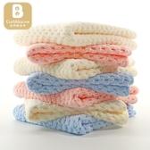 卡伴抗菌防螨口水巾嬰兒毛巾洗臉新生初生幼兒小方巾手帕兒童用品