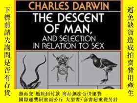 二手書博民逛書店The罕見Descent Of Man And Selection In Relation To SexY25