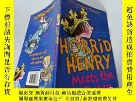 二手書博民逛書店Horrid罕見Henry Meets the Queen:可怕的亨利遇見了女王Y200392