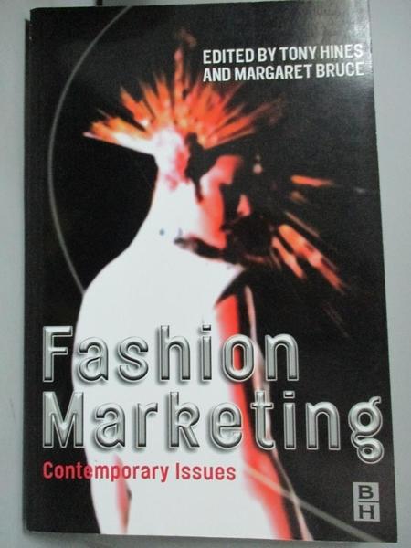 【書寶二手書T5/傳記_WGM】Fashion Marketing: Contemporary Issues_Hines
