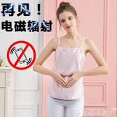 防輻射衣 電腦防輻射肚兜四季上班內穿孕婦裝衣服懷孕期放射服圍裙護胎寶女 快樂母嬰