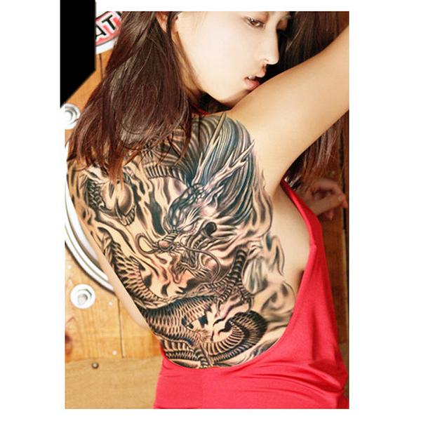 刺青 紋身貼紙 趙子龍 戰神 關公 關聖帝君 泰國 象神 日本 般若假面 假面 鬼面 趙雲 8068
