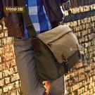 【TROOP】經典品格CLASSIC單肩包/TRP0207BN(棕色)