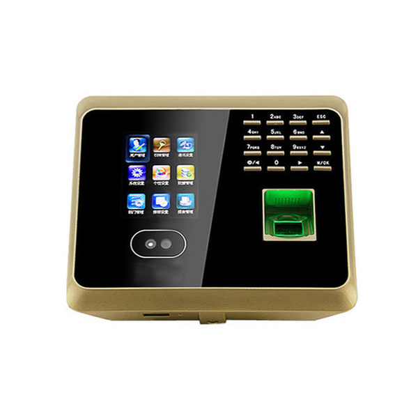 人臉識別 考勤機 面部/指紋識別 打卡鐘打卡機可帶網路 TCP/IP/隨身碟多方式下載報表【KC-08】