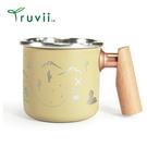 丹大戶外【Truvii】木柄白鐵杯 400ml-沙漠尋寶