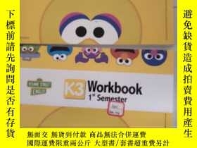 二手書博民逛書店Workbook罕見1 st Semester K3  Workbook 2nd Semester K3 內頁塗抹