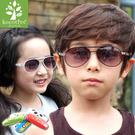 ※現貨_韓國kocotree金屬框兒童太陽眼鏡 抗UV400  贈皮革眼鏡盒 3色 Billgo【K508002】