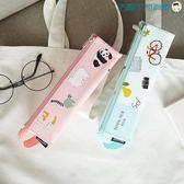 韓國鉛筆盒學生筆袋女小清新文具盒【洛麗的雜貨鋪】