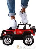 玩具遙控車遙控車越野車充電無線遙控汽車兒童玩具男孩玩具1-2-10歲電動賽車DF  免運 維多