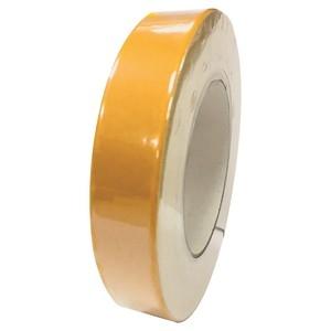 雙面布膠帶25mm x 25M黃色