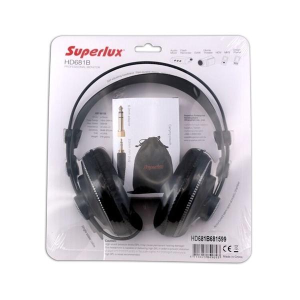 小叮噹的店-Superlux HD681 專業監聽級耳機 耳罩式耳機
