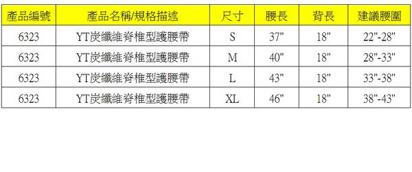 【皇家竹炭】YT脊椎型護腰帶 (軟鋼片)
