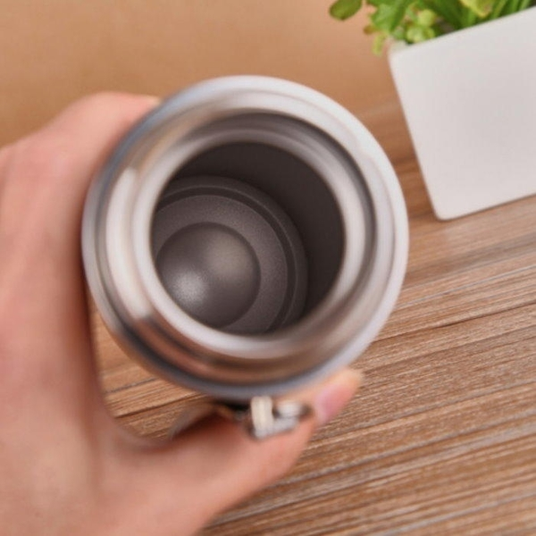 【DC426】卡通不鏽鋼杯500ML不鏽鋼保溫瓶 子彈頭不銹鋼茶杯 EZGO商城