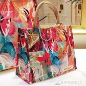 購物袋 手提旅行收納大袋子防水便攜小包防水包女環保購物袋 酷斯特數位3c
