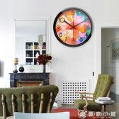 個性鐘表掛鐘客廳現創意靜音臥室簡約時鐘餐廳石英鐘掛表 YXS 理想潮社