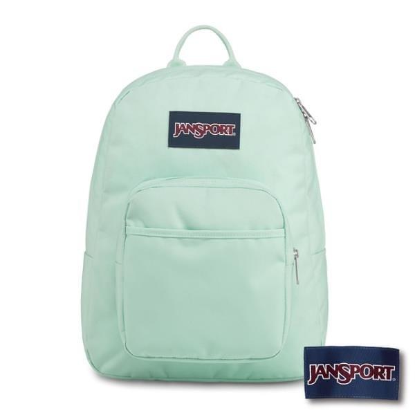 【南紡購物中心】JANSPORT Full Pint 系列後背包-清水綠(JS-43912)