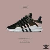 IMPACT Adidas EQT Support ADV W 黑 粉 編織 條紋 女鞋 運動 慢跑 休閒 百搭 范冰冰著用款 BY9112