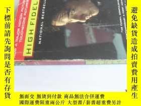 二手書博民逛書店英文原版罕見High FidelityY7215 Nick Hornby Riverhead Books IS