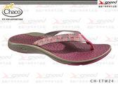 【速捷戶外】Chaco涼鞋 -  美國專業戶外休閒拖鞋 沙灘鞋 休閒鞋Fathom CH-ETW24 女(魚鱗紅)