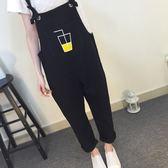 夏裝韓版學院風寬鬆可樂杯背帶褲短褲學生女連身褲寬管褲 東京衣秀