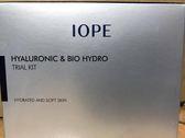 【IOPE】 超導水感玻尿酸潤澤旅行4件組  效期2020 公司貨  【淨妍美肌】