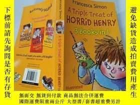 二手書博民逛書店A罕見Triple Treat of HORRiD HENRY(3 Books in 1)三重對待可怕的亨利(三本