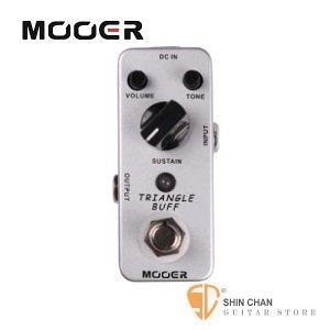 Mooer Triangle Buff 破音Fuzz效果器【Fuzz Pedal】【Micro系列TB】