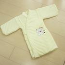 GMP BABY 寶貝保暖抖熊毛巾布鋪棉和服~1件黃色